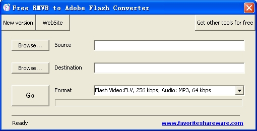 Free RMVB to Adobe Flash Converter