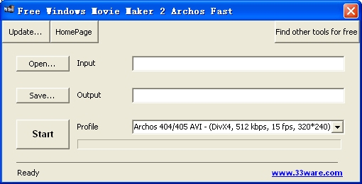 Free Windows Movie Maker 2 Archos Fast