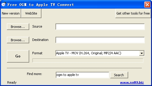 Free OGM to Apple TV Convert