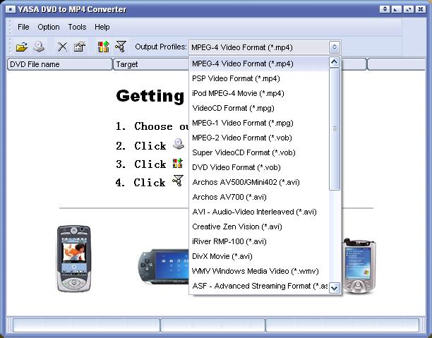 Soft DVD to MP4 Converter